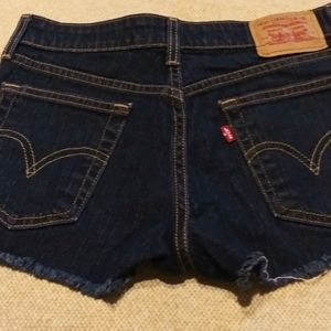 Levi's Shorts - LEVI'S SUPER LOW FESTIVAL JEAN SHORTS 3 JUNIORS